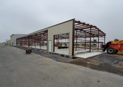 Hangar Progress Pic